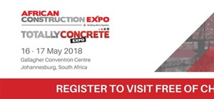 African Construction and Totally Concrete Expo 2018